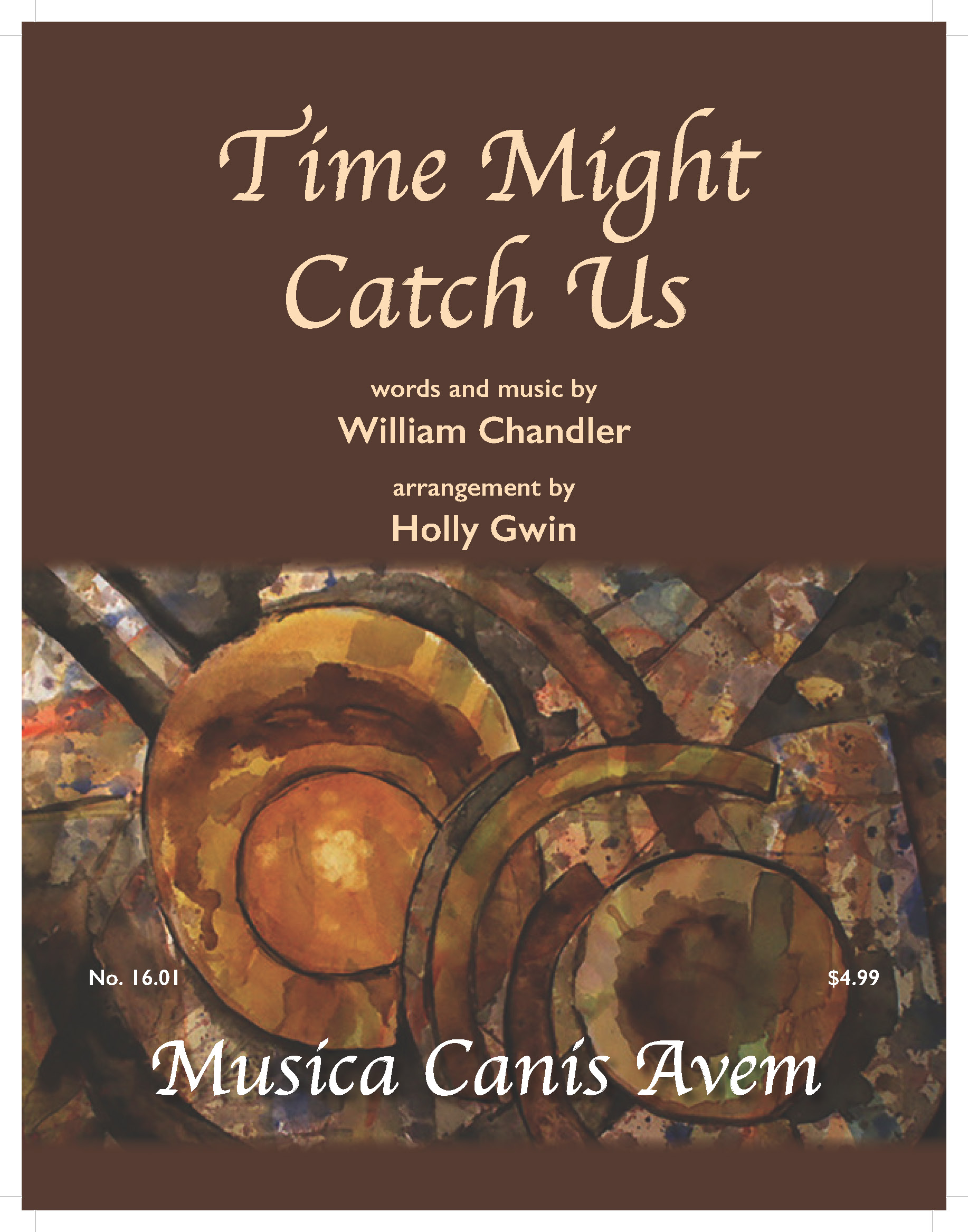 Time Might Catch US Cover